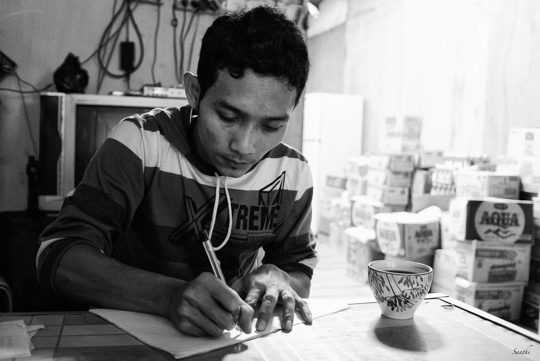 Agus Wijaya, a migrant - Merauke 2012