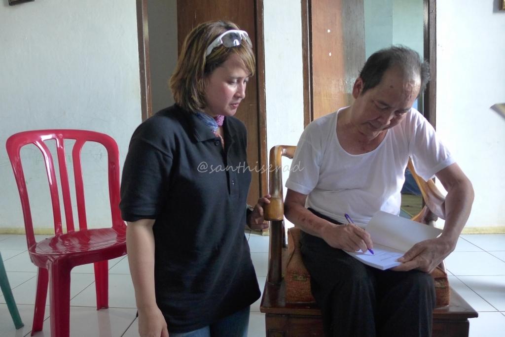 Saya bersama Bapak Korrie Layun Rampan (Copy)