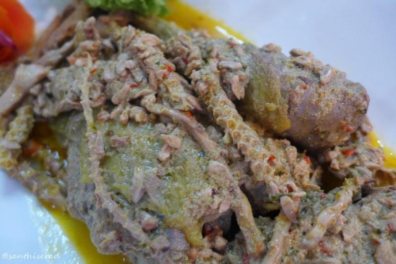 Manggar diolah menjadi masakan Ayam Manggar kreasi Juari I Kecamatan Bantur -Kabupaten Malang (Copy)