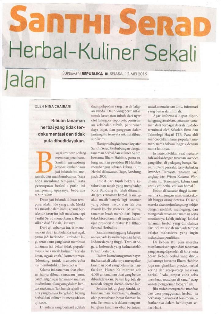 ISH-Herbal Kuliner Sekali Jalan 1