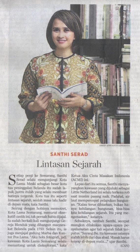 artikel Lintasan Sejarah_Santhi Serad_
