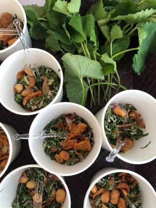 Diskusi gaya hidup sehat di Zero Hunger Festival