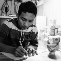 Agus Wijaya, a migrant – Merauke 2012
