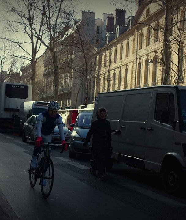 Bersepeda, Paris