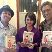 Diskusi peluncuran kembali buku Mustika Rasa