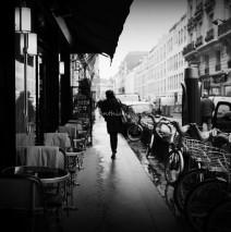 Morning Walk in Paris