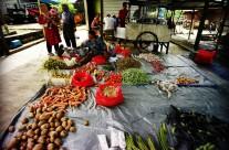 Pasar Nala, Kutai Barat: Berjualan
