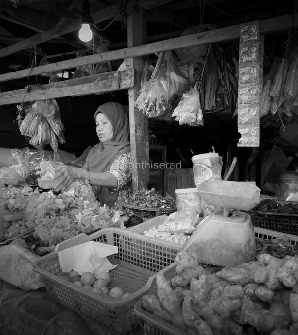 Pasar Bawah Pekanbaru: Penjual Rempah-Rempah